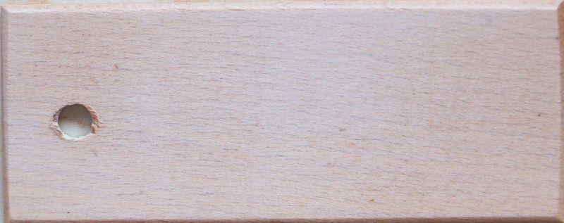 kolor nózek biały przecierany