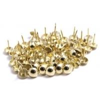 gwoździe pojedyńcze srebrne, złote, stare złoto